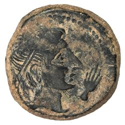 SPAIN: Castulo: Anonymous, 2nd century BC, AE 27 (15.09g). F-VF