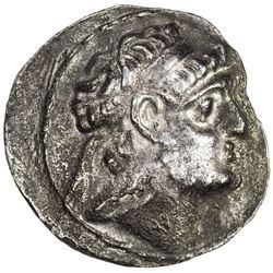 CHARACENE: Apodakos, ca. 110-104 BC, AR tetradrachm (15.09g), SE2xx. VF
