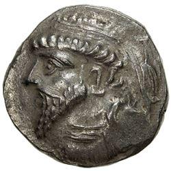 ELYMAIS: Kamnaskires V, ca. 62-54 BC, AR tetradrachm (14.93g). VF