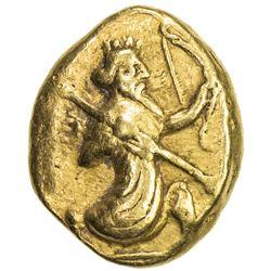 ACHAIMENID EMPIRE: temp. Darios I to Xerxes II, ca. 485-420 BC, AV daric (8.32g). VF