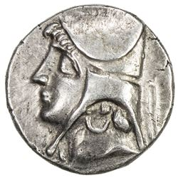PARTHIAN KINGDOM: Arsakes II, c. 211-191 BC, AR drachm (4.04g). EF