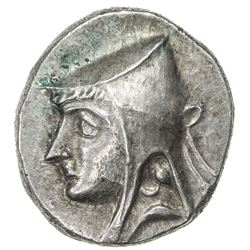 PARTHIAN KINGDOM: Arsakes II, c. 211-191 BC, AR drachm (4.21g). EF