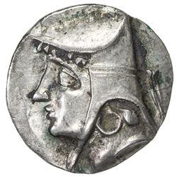 PARTHIAN KINGDOM: Arsakes II, c. 211-191 BC, AR drachm (3.93g). EF