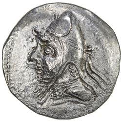 PARTHIAN KINGDOM: Mithradates I, c. 171-138 BC, AR drachm (3.86g). VF