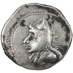 PARTHIAN KINGDOM: Mithradates I, c. 171-138 BC, AR drachm (4.07g). VF