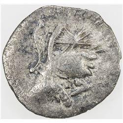 PARTHIAN KINGDOM: Mithradates I, c. 171-138 BC, AR obol (0.55g). F