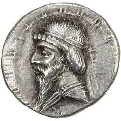 PARTHIAN KINGDOM: Mithradates I, c. 171-138 BC, AR drachm (4.70g). VF-EF