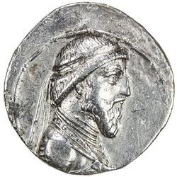 PARTHIAN KINGDOM: Artabanos I, c. 127-123 BC, AR tetradrachm (16.00g), Seleukeia. VF