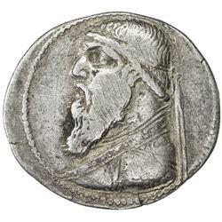 PARTHIAN KINGDOM: Mithradates II, c. 123-88 BC, AR tetradrachm (13.49g), Seleukeia. F