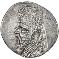PARTHIAN KINGDOM: Mithradates II, c. 123-88 BC, AR drachm (4.12g). EF