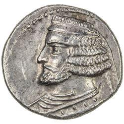 PARTHIAN KINGDOM: Orodes II, c. 57-38 BC, AR drachm (3.80g), Rhagae. EF