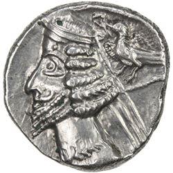 PARTHIAN KINGDOM: Phraates IV, c. 38-2 BC, AR drachm (3.85g), Rhagae. VF-EF