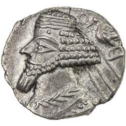 PARTHIAN KINGDOM: Phraates IV, c. 38-2 BC, AR drachm (3.67g), Ekbatana. EF