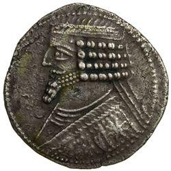 PARTHIAN KINGDOM: Phraates IV, c. 38-2 BC, AR tetradrachm (14.68g), Seleucia. VF