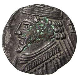 PARTHIAN KINGDOM: Phraatakes, 2 BC - AD 4, AR tetradrachm (10.27g), Seleukeia, SE311 (=2/1 BC). EF