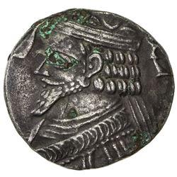 PARTHIAN KINGDOM: Phraatakes, 2 BC - AD 4, AR tetradrachm (9.18g), Seleukeia, SE311 (=2/1 BC). VF-EF