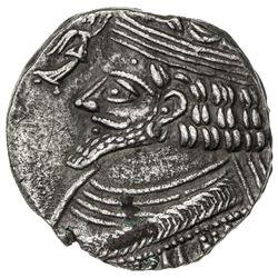 PARTHIAN KINGDOM: Phraatakes, 2 BC - AD 4, AR tetradrachm (10.25g), Seleukeia, SE311 (=2/1 BC). VF-E