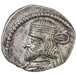 PARTHIAN KINGDOM: Vardanes II, AD 55-58, AR drachm (3.32g). VF-EF