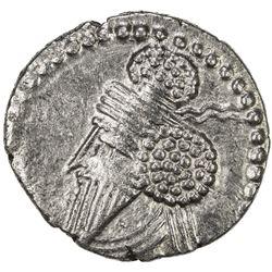 PARTHIAN KINGDOM: Osroes I, AD 109-129, AR drachm (3.53g). VF-EF