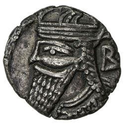 PARTHIAN KINGDOM: Vologases IV, AD 147-191, AR tetradrachm (13.39g), Seleukeia, SE502 (=190/191 AD).