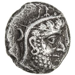 PERSIS KINGDOM: Vadfrahad II, before about 150 BC, AR drachm (4.09g). VF