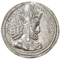 SASANIAN KINGDOM: Shapur I, 241-272, AR drachm (4.35g). VF-EF