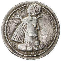 SASANIAN KINGDOM: Narseh, 293-303, AR drachm (4.13g). VF