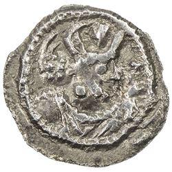 SASANIAN KINGDOM: Shapur II, 309-379, AR obol (0.39g), NM, ND. EF