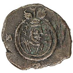 SASANIAN KINGDOM: Yazdigerd III, 632-651, AE pashiz (2.32g), ART (Ardashir Khurra), uncertain date.