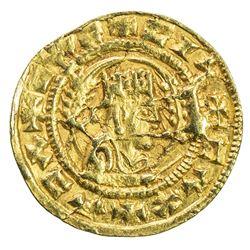 AXUM: Ebana, late 5th century, AV unit (1.56g). EF