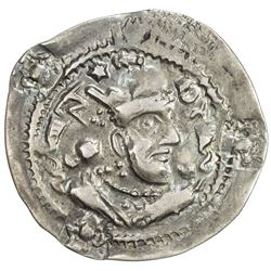 NORTHERN TOKHARISTAN: Anonymous, ca. 580-750, AR drachm (2.63g). VF-EF