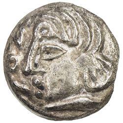 SAMARKAND: Anonymous, ca. 2nd-4th century, AR obol (0.51g). EF