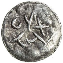 SAMARKAND: Anonymous, ca. 2nd-4th century, AR obol (0.48g). VF-EF