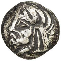 SAMARKAND: Anonymous, ca. 2nd-4th century, AR obol (0.55g). VF