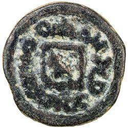 SEMIRECH'E: Wahshutawa (Vashtutava), 8th century, AE cash (3.61g). VF