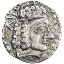 YUEH CHI: Anonymous, after 130 BC, AR tetradrachm (9.04g). VF-EF
