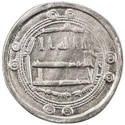 ABBASID: al-Hadi, 785-786, AR dirham (2.93g), al-Muhammadiya, AH170. VF