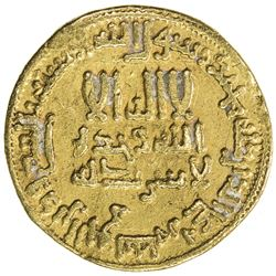 ABBASID: al-Rashid, 786-809, AV dinar (4.20g), NM (Egypt), AH175