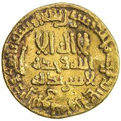 ABBASID: al-Rashid, 786-809, AV dinar (4.19g), NM (Egypt), AH189. F-VF