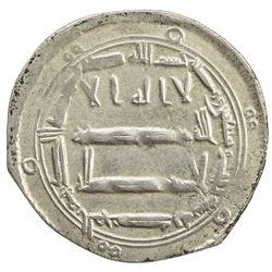 ABBASID: al-Rashid, 786-809, AR dirham (2.75g), al-Muhammadiya, AH173. EF
