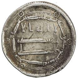 ABBASID: al-Rashid, 786-809, AR dirham (2.88g), al-Muhammadiya, AH174. VF
