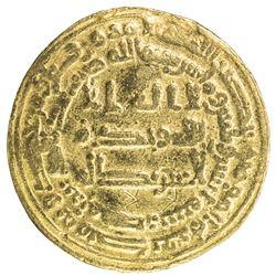 ABBASID: al Wathiq, 842-847, AV dinar (4.00g), Misr, AH232. F