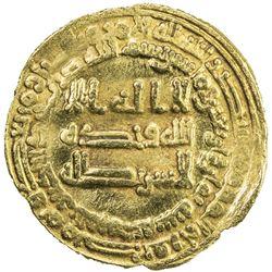 ABBASID: al-Musta'in, 862-866, AV dinar (4.10g), al-Muhammadiya, AH248. VF