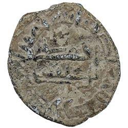 ABBASID: al-Mu'tadid, 892-902, lead 24 units (7.17g), AH282. VF