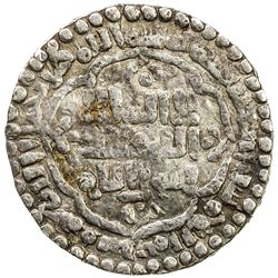 ABBASID: al-Mustansir, 1226-1242, AR 1/2 dirham (1.48g), Madinat al-Salam, AH640. F