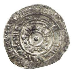 FATIMID: al-Mu'izz, 953-975, AR 1/2 dirham (1.44g), Misr, AH364. VF