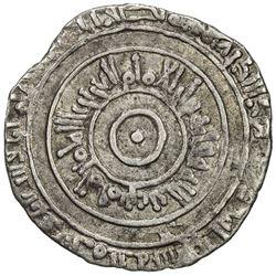 FATIMID: al-'Aziz, 975-996, AR 1/2 dirham (1.42g), al-Mansuriya, AH368. VF