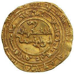 FATIMID: al-Hakim, 996-1021, AV dinar (4.06g), Atrabulus, AH41x. VF