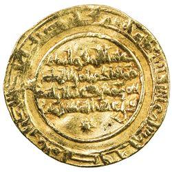 FATIMID: al-Hakim, 996-1021, AV dinar (4.11g), al-Mansuriya, AH410. VF