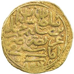 OTTOMAN EMPIRE: Suleyman I, 1520-1566, AV sultani (3.43g), Amasya, AH926. VF